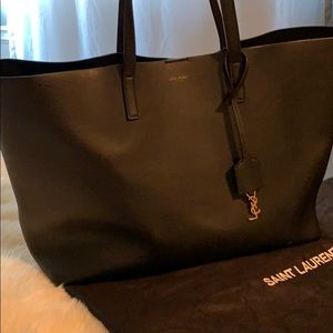 YSL East/West Unstructured Shopping Bag